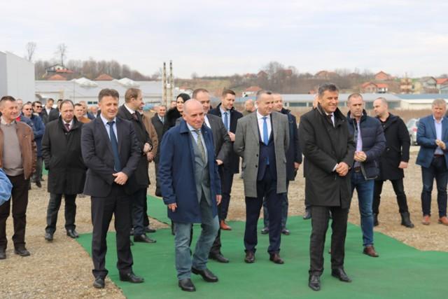 Položen kamen temeljac za novu fabriku u Gradačcu